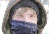 Человек, Зима, Улица, Мороз