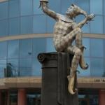 Скульптура Арлекин.