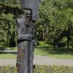 Памятник Достоевскому. Расположен возле Драматического театра.