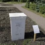 Памятник дырке от бублика. Воскресенский сквер.