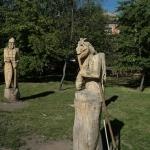 Баба Яга. Площадь Серова.