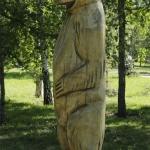 Медведь. Площадь Серова.
