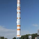 Памятник ракете Космос 3-М.