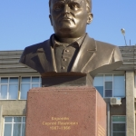 Памятник Сергею Павловичу Королёву. Расположен проспект Королёва 1.