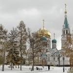 Омский Свято-Успенский кафедральный собор.