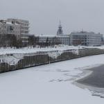 Омский речной вокзал.