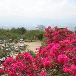 Вид на Мехико с холма.