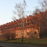 Багратионовск, замок  Прейсищ Эйлау.