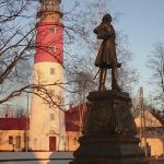 Балтийск, памятник Петру Первому.