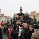 Рождественская горка Старомесская площадь.