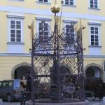 Самый старый Пражский колодец.