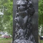 Памятник погибшим в техногенной катастрофе под Уфой в 1989 году, 4 июня, 1710 километр железной дороги.