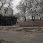 Памятник омским речникам погибшим в Великой Отечественной войне. Красный путь 153.