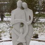 """Скульптура """"Семья"""". Сквер имени Дзержинского."""