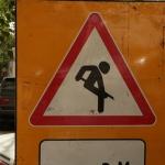 Кто нибудь знает что это за дорожный знак?