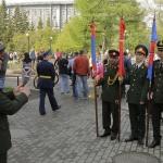 Слева направо, представители вооружённых сил: Лаос, Вьетнам, Северная Корея, Вьетнам.