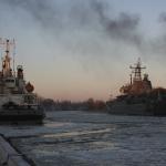 Порт города Балтийска. Снимок 1.